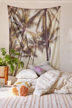 Slide View: 1: Catherine McDonald For DENY Southern Pacific Island Tapestry