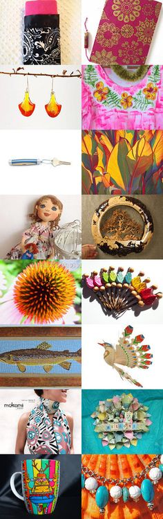 COMPLIMENTING COLOURS by M.A.Dellinger Wood Carving on Etsy--Pinned with TreasuryPin.com