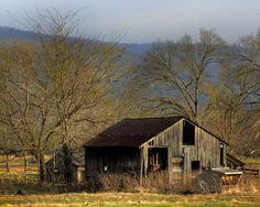 I love old structures like this one. They make great photographs.