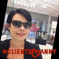 A querida Danielle já garantiu seus #óculos novos para curtir o #feriadão. E você já escolheu o seu?  Aproveite seu #tomford #Dani ! #lançamento #oticaswanny #relax #clientewanny