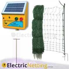 Hog Wildlife Electric Netting 3//29.5//8 Blue 164/' Kit DIY