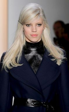 Peter Som from New York Fashion Week Beauty Looks: Fall 2014 Hair & Makeup | E! Online