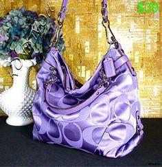 Love this purple coach bag! Discount Coach Bags, Coach Bags Outlet, Coach Handbags, Coach Purses, Purses And Handbags, Fashion Bags, Womens Fashion, Fashion Trends, Fashion Fashion
