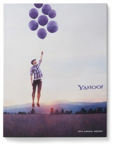 Yahoo! Annual Report 2012 - Graphis
