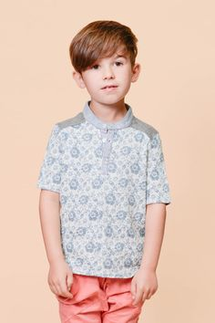 Paisley Lennox Shirt, available in sizes 2 to 14 at www.odetojeune.com.