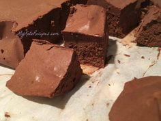 I get so many requests for this recipe from people doing low carb (ketogenic) diet! This is the best no sugar keto fudge recipe ever!