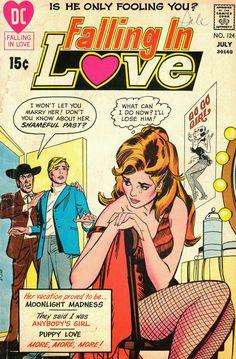 I have more Romance Comics up now. Old Comic Books, Comic Book Artists, Comic Book Characters, Old Comics, Vintage Comics, Jordi Bernet, Crying Girl, Romance Comics, Vintage Romance