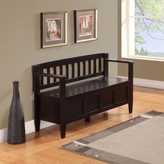 Shop for WYNDENHALL Riverside Entryway Storage Bench. Get free shipping at…
