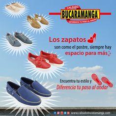 Con Calzado Bucaramanga encuentra tu #estilo y diferencia tu paso al andar.  www.calzadobucaramanga.com