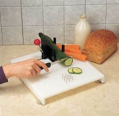 Swedish Cutting Board :: one hand food preparation board Sensory Rooms, Sensory Activities, Therapy Activities, Adaptive Equipment, Activities For Adults, Kitchen Equipment, Mixing Bowls, Crafts For Girls, Cooking Tools