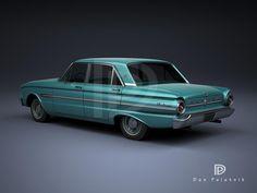 A Garagem Digital de Dan Palatnik | The Digital Garage Project: 1963 Ford Falcon Futura
