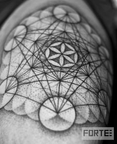 Metatrons Cube - contains every shape that exists within the universe. Those…