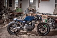 Boesch 110 - VTR Customs BMW K100           ~            Return of the Cafe Racers