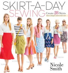 Skirt-a-Day Sewing Frill Seeker Wrap Skirt + Book Giveaway | Sew Mama Sew | Outstanding sewing, quilting, and needlework tutorials since 2005.