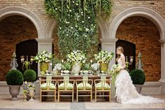 WedLuxe– Fresco Verde, Part 1 | PHOTOGRAPHY BY: MELANIE REBANE PHOTOGRAPHY Follow @WedLuxe for more wedding inspiration!