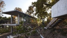 JHW IROJE Architects's Forest and House is slotted among trees