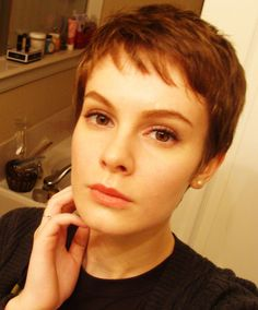 Take a little off the top! Easy to master and maintain, short hairstyles are cool, powerful, and they show that your are a strong and self-confident woman.