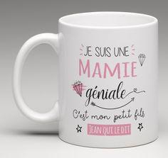 Mamie géniale - Mug personnalisé - Le Monde de Bibou