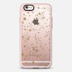 Wish Upon - Gold Transparent - New Standard Case @casetify #casetify #iphonecase #phonecase #phonecover #tech #clearcase #transparentcase #crystalclear #stars #gold #glitter #sparkle #shootingstars #galaxy