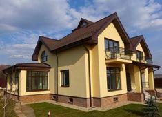 Фасад дома - как сделать красиво и стильно? 110 фото новинок дизайна Mansions, House Styles, Home Decor, Decoration Home, Manor Houses, Room Decor, Villas, Mansion, Home Interior Design