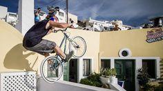 Dana villas - Red Bull art of motion event in Santorini 2012