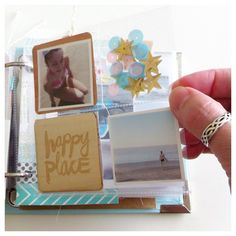 4x4 | instagram december daily ideas - love the sprinkles in the pocket Summer mini album (part 2 of 3) by kgriffin at @studio_calico