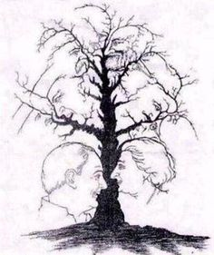 How many faces do you see?