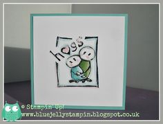 Stampin' Up! Undefined Hugs and Tutorial - klasse, klasse, klasse !