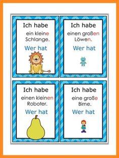 German Grammar Games - Akkusativ #grammar Hashtags: #MajesticVision #Grammar