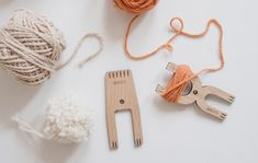Loome — echoview fiber mill How To Make A Pom Pom, Friendship Bracelets, Loom, Fiber, Weaving, Personalized Items, Mini, Ideas, Loom Weaving