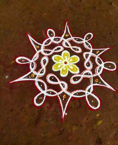 Simple Rangoli Border Designs, Rangoli Borders, Kolam Designs, Geometry Formulas, Rangoli With Dots, Easy Rangoli, Art Drawings, Books, Color