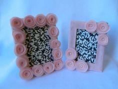 Felt flower frames