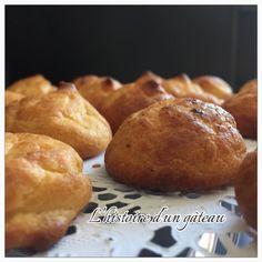 Gougères au parmesan / L'histoire d'un gâteau Muffin, Bread, Parmesan, Breakfast, Food, Sprouts, Morning Coffee, Brot, Essen