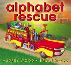 See how we made an alphabet firetruck from recycled materials after reading this book #recycle #firetruckcraft