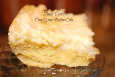 Paula Deen's Ooey Gooey Butter Cake - Similar to the Chess Squares but with a few added ingredients