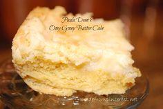 Paula Deen's Ooey Gooey Butter Cake.  Paula Deen. Butter.  Need I say more? madefrompinterest.net #gloriousgoodies