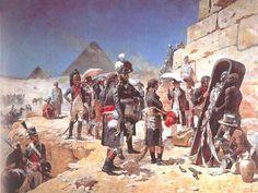 """""""Bonaparte aux Pyramides"""", Maurice Orange"""