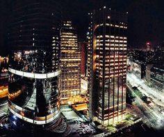 Las ciudad desde el piso 24 del  @sheratonbuenosaires