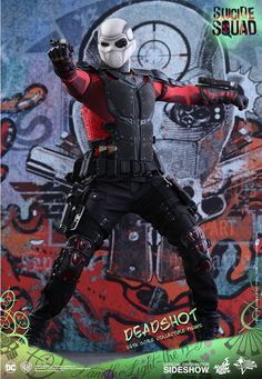 DC Comics Deadshot Sixth Scale Figure by Hot Toys | Sideshow Collectibles