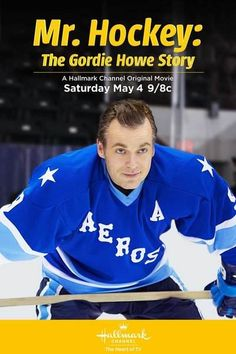 """Mr. Hockey: The Gordie Howe Story"" stars Michael Shanks. Stargate, Daniel. http://www.hallmarkchannel.com/mrhockey"
