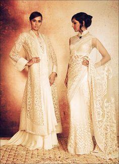 49 Ideas indian bridal wear white tarun tahiliani for 2019 Indian Bridal Wear, Indian Wedding Outfits, Bridal Outfits, Indian Outfits, Pakistani Outfits, Indian Weddings, Indian Wear, Saris, Ethnic Fashion