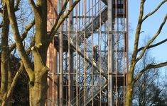 Viewingtower at Vecht Riverbank,Courtesy of Ateliereen Architecten