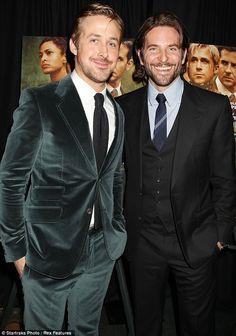 double whammy; Bradley Cooper and Ryan Gosling