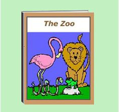 """The thematic unit eWorkbook titled """"Zoo"""" is a favorite of all children.  It describes some zoo animals with pictures.  It shares the variety of duties of a zoo keeper. It describes some of the health care, food the animals receive, and more.  Activity worksheets are included."""