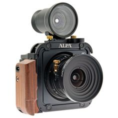 Alpha 12 TC: This beautiful large format camera was designed by Estragon. 6x9 roll film or 60 MP. $40,000.