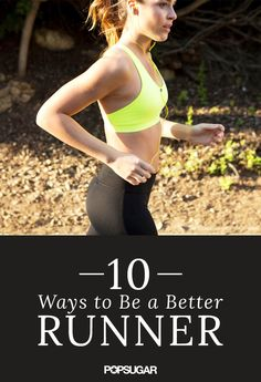 10 ways to be a better runner, without logging miles. Foam rolling, yoga, and getting enough sleep all help.get your power boost! and good sounding earbuds from Running Training, Running Workouts, Running Tips, Strength Training, Fitness Workouts, Running Plans, Race Training, Killer Workouts, Fitness Motivation