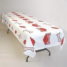 Arkansas Razorbacks Plastic Table Cover