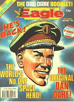 Dan Dare is a British science fiction comic hero, created by illustrator Frank Hampson who also wrote the first stories, that is, the Venus and Red Moon stories, and a complete storyline for Operation Saturn. Dare appeared in the Eagle comic story Dan Dare, Pilot of the Future in 1950, dramatised seven times a week on Radio Luxembourg. The stories were set in the late 1990s, but the dialogue and manner of the characters is reminiscent of British war films of the 1950s. Dan Dare has been…