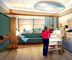 Children's Hospitals and Clinics of Minnesota.  Private NICU room