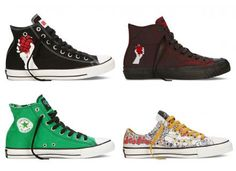 GREEN DAY × CONVERSE CHUCK TAYLOR ALL STAR COLLECTION #sneaker